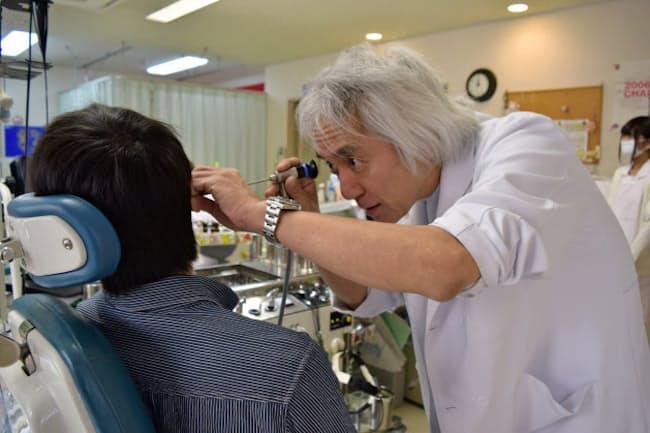 自身も音響外傷の経験がある小倉弘之さん(栃木県足利市)