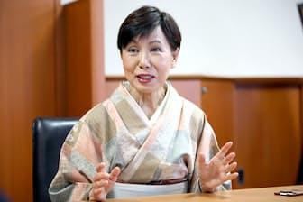 法政大学の田中優子総長