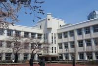 麻布中学・高校の校舎(東京・港)