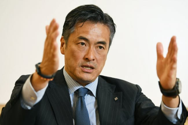 ローソン会長の玉塚元一氏(3月21日のインタビューで)