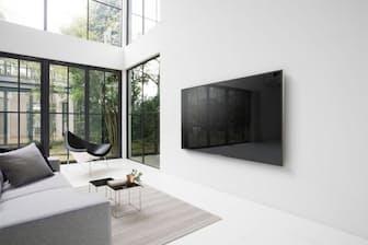 ソニーの4KテレビZ9D。スカパー!4Kのチューナーを内蔵する