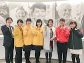 右から井尻綾夏さん、河野文香さん、白河桃子さん、金田亜弥香さん、加藤ますみさん、樋口麻美さん、岩間勇気さん(写真:吉村永、以下同)