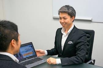 ネット査定の後、売却に向け対面アドバイスする会社も(リブセンス「イエシル」)