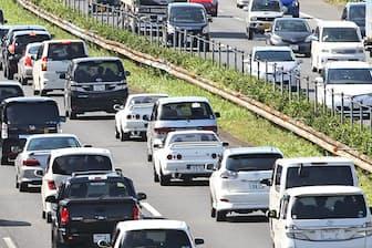 大型連休は高速道路の渋滞が予想される