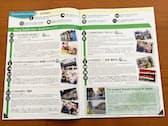 埼玉大周辺の商店会は留学生の視点を取り入れ、外国語による紹介マップを作製した