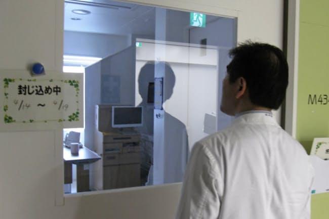 内用療法の専用病室は使用後1週間は患者を受け入れられない