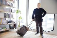 1週間までの出張ならこのスーツケースで出かけられる