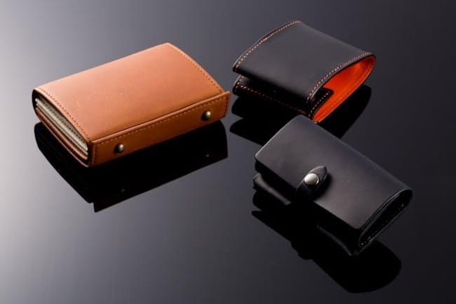 機能をゼロから見直し再構築された革財布がひそかな人気を集めている