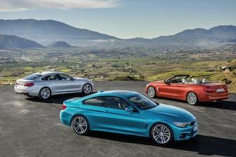 2017年5月9日に日本でも発売されたBMWの新型「4シリーズ」。2ドアの「4シリーズ クーペ」、2ドアクーペをベースとしたオープンモデル「4シリーズ カブリオレ」、4ドアハッチゲートの「4シリーズ グラン クーペ」3タイプを用意している(画像提供:BMW)