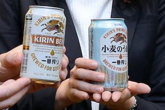 キリンビールは主力商品「一番搾り」に経営資源を集中して成果を上げた