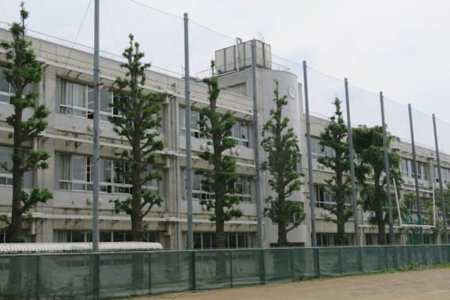 東京・杉並にある都立西高校