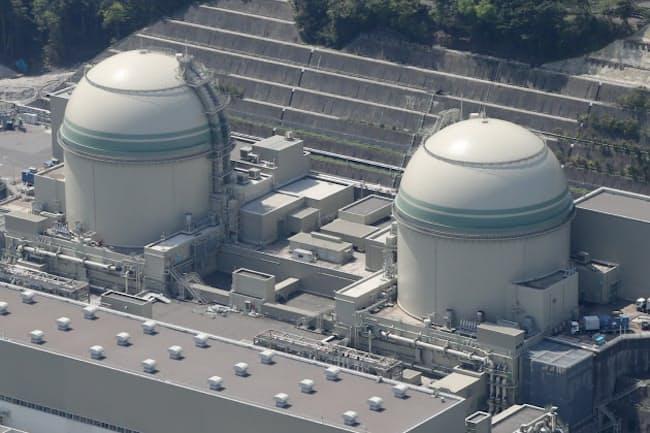 4号機が5月中旬に再稼働した、関西電力の高浜原子力発電所(福井県)