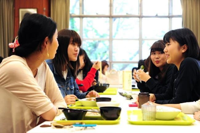 撮影協力:清泉女子大学