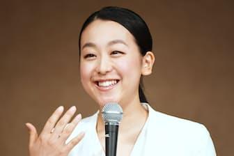 引退記者会見では想定外の質問が浅田真央さんにぶつけられた
