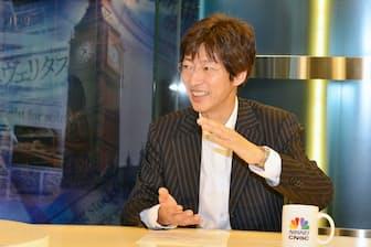 日経CNBCの番組「昼エクスプレス」で「いま必要な投資術」を語る筆者