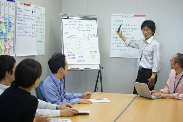 基本ルールを決めた上で会議を開く(東京都江東区のケンブリッジ・テクノロジー・パートナーズ)