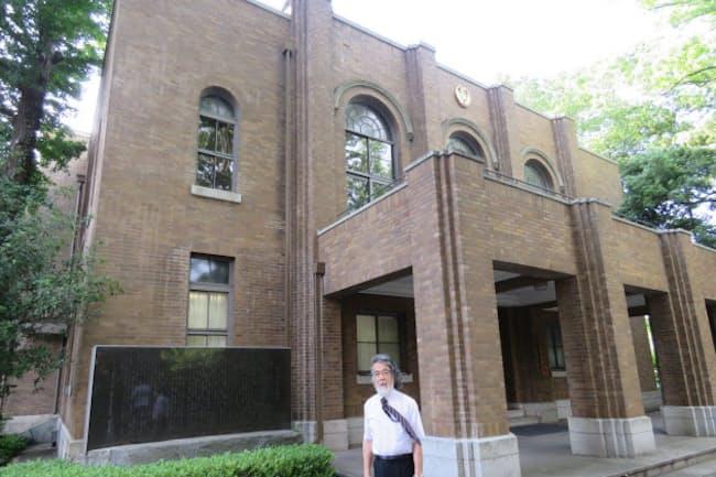 武蔵学園の大講堂