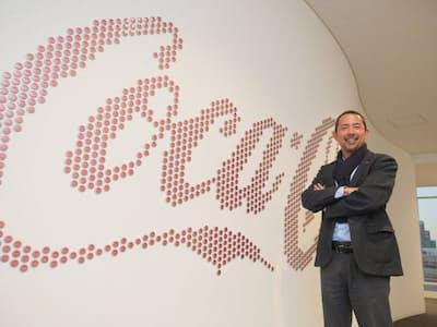 日本コカ・コーラで東京2020五輪ゼネラルマネジャーを務める高橋オリバー氏(写真:加藤康)