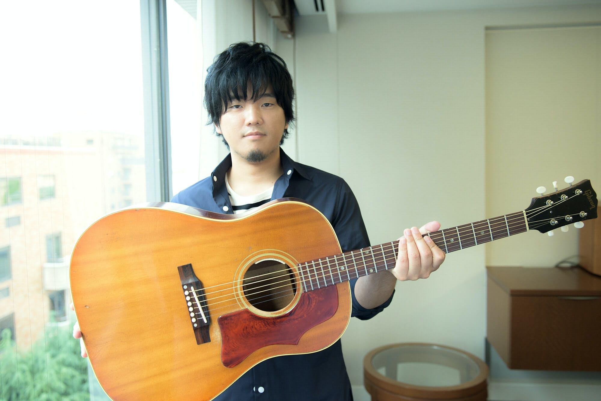 秦 基博 ギター