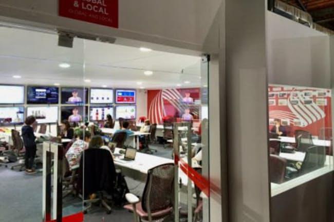 コカ・コーラがリオ五輪で設けたSNSの情報発信基地(写真:コカ・コーラ)