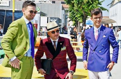イタリアのフィレンツェで6月に開かれた世界最大級のメンズ製品の展示「ピッティ・イマージネ・ウオモ」