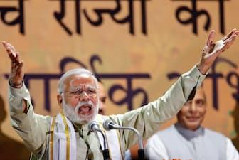 投資家の間ではモディ政権によるインドの財政・経済改革への期待も=ロイター