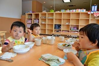 新日鉄住金君津製鉄所(千葉県)が今年4月に新設した保育所