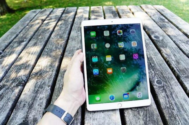 アップルが2017年6月に発売した「iPad Pro 10.5インチモデル」。Wi-Fi+Cellular版の256GBモデルで、直販価格は9万5800円だった