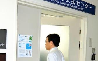 医師不足の病院に医師の派遣を進める地域医療支援センター(徳島県のセンターは徳島大病院にある)