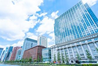 東京・丸の内のオフィス街=PIXTA