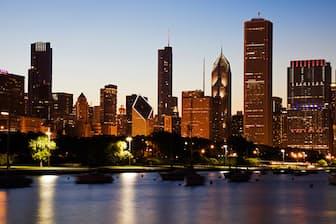 1978年、初めての海外出張は米シカゴだった(PIXTA)