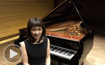 小川典子さん 浜松国際審査委員長のピアノ