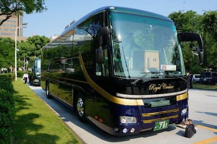 クラブツーリズムの最高級バス「碧号」
