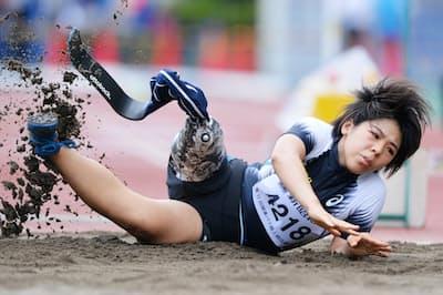 東京五輪・パラリンピックに参加する女性アスリートは過去最高まで増える(写真はパラ陸上走り幅跳びの前川楓さん)