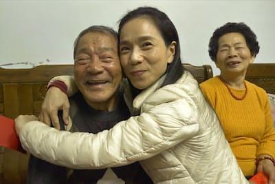 「台湾萬歳」に登場する元船長と家族