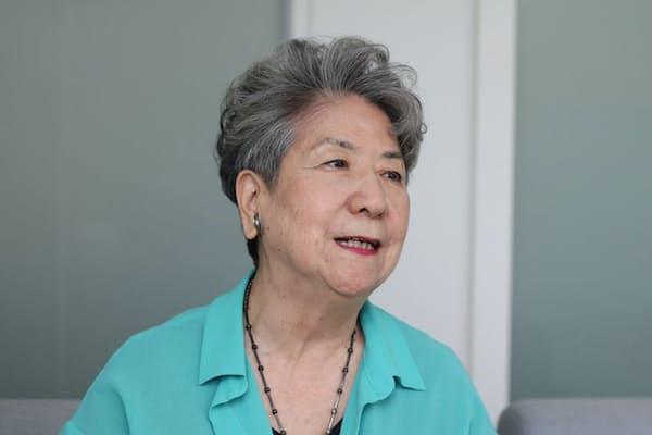 WEF会長兼代表理事 尾原蓉子氏