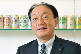 キリンビール社長の布施孝之氏