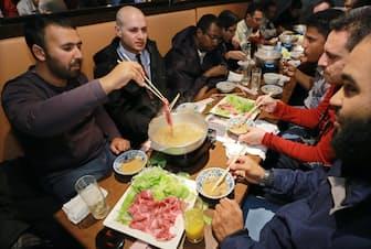 日本を訪れるムスリムは増えている(都内の飲食店)