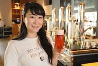 スプリングバレーブルワリーのマーケティングマネージャー、吉野桜子さん