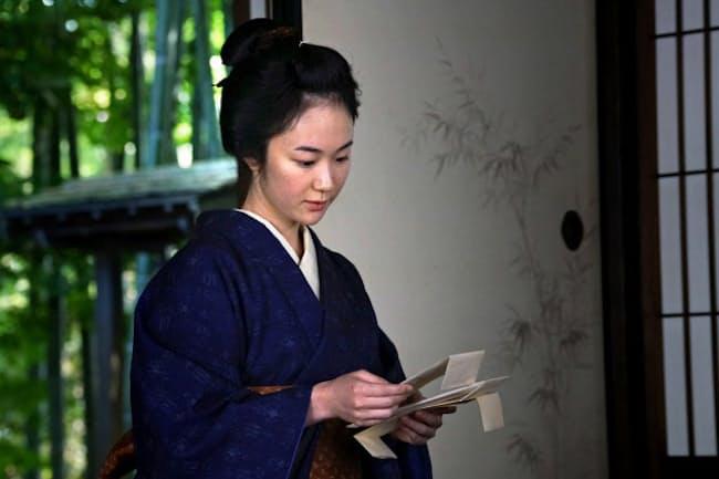 『散り椿』で新兵衛の亡妻の妹を演じる黒木華