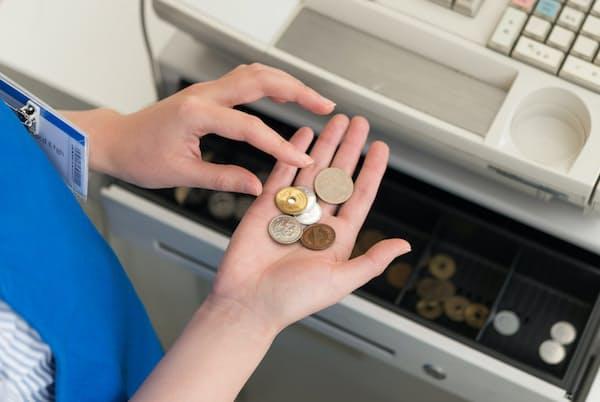 米国で「99セント」式の値付けが広がった背景には、機械式レジの登場があったという PIXTA