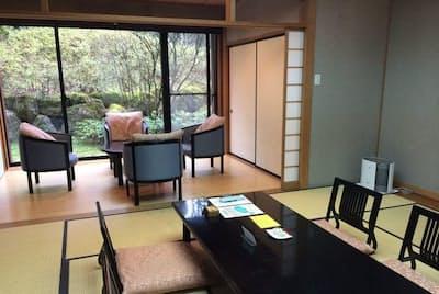 箱根の保養所の一室(2014年4月)