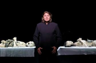 独ミュンヘンのバイエルン国立歌劇場で今年5月、ワーグナーの歌劇「タンホイザー」の題名役を初めて演じたフォークト(撮影=Wilfried Hoesl)