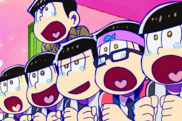 ギャグをベースにした「おそ松さんの」作風はSNSと相性がよい。第2期がテレビ東京ほかで10月放送開始 (C)赤塚不二夫/おそ松さん製作委員会