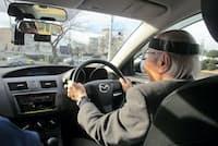 高齢者の運転状況に関する調査が進んでいる(高齢者安全運転支援研究会、神奈川県座間市)
