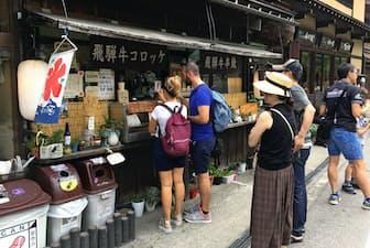 外国人旅行客は日本の地方まで足を運ぶようになった(岐阜県白川村の白川郷)