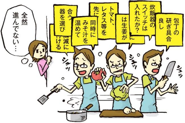 料理に不慣れな人にとって「段取り」は難しい問題。でも家電を上手に利用すれば解決できるという