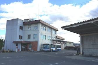 所長として過ごした国鉄バス棚倉営業所(福島県棚倉町)はその後、統廃合で無人に