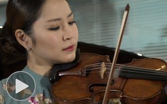 バイオリニスト神尾真由子 新企画は室内楽
