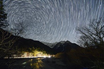 星を見る狙い目は、空が暗い新月の時期だ